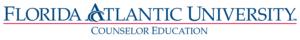 florida atlantic university - counselor education logo